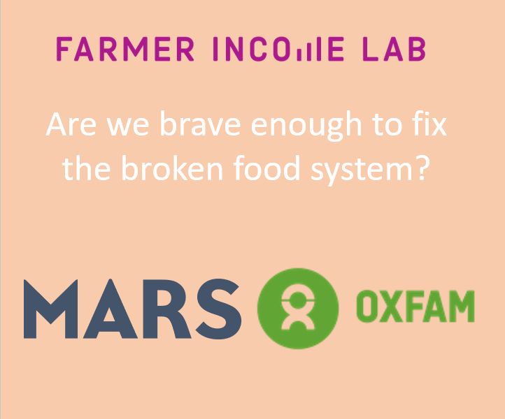 Are we brave enough to fix the broken food system? PDF